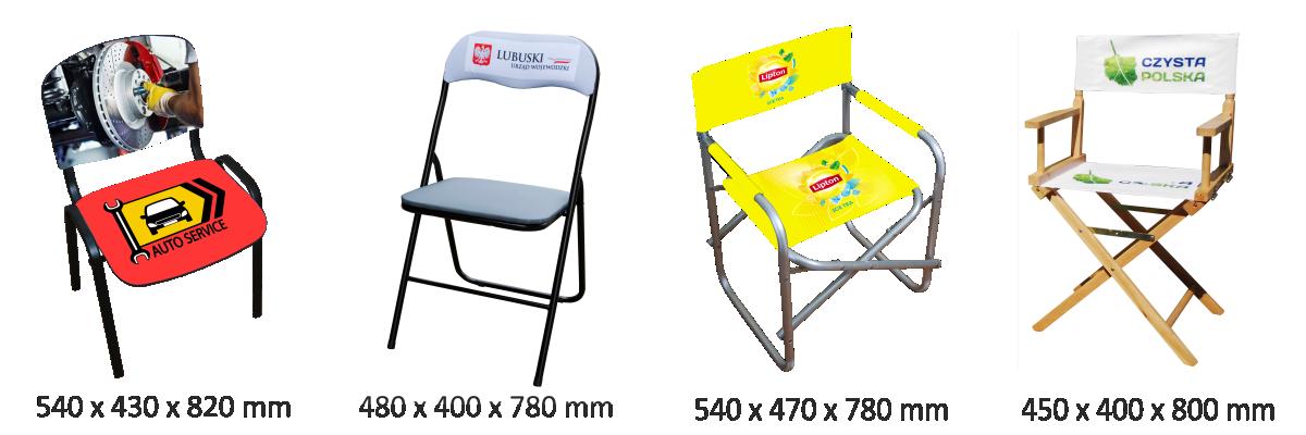 krzesła biurowe, krzesła składane, krzesła iso, krzesła reżyserskie, krzesła